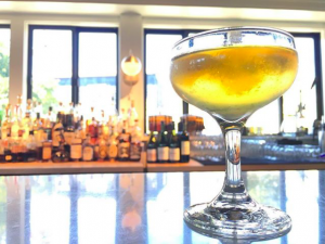 cocktail on bar